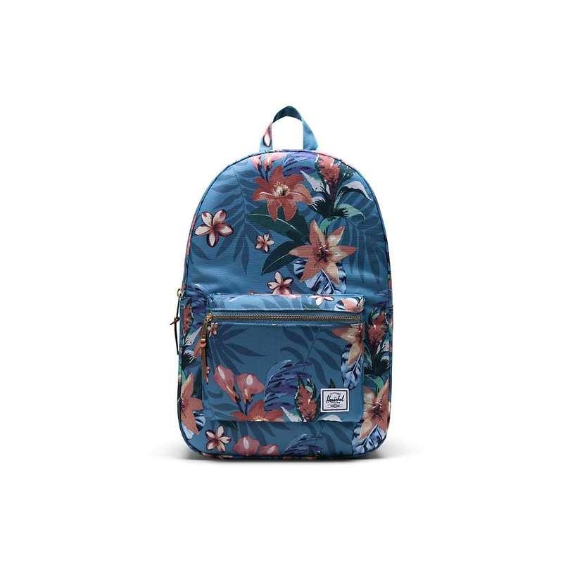 ハーシャル メンズ バックパック・リュックサック バッグ Herschel Supply Co Settlement Backpack Summer Floral Heaven Blue