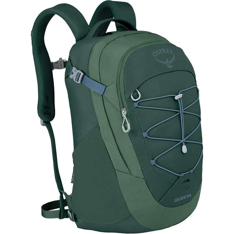 オスプレー メンズ バックパック・リュックサック バッグ Osprey Questa Pack Tortuga Green