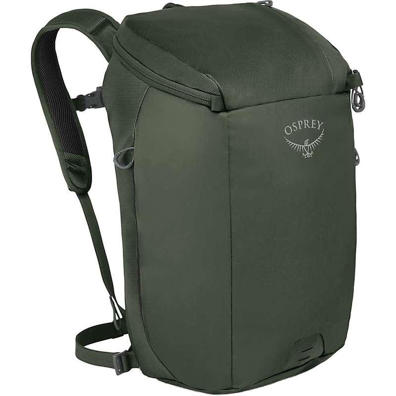 オスプレー メンズ バックパック・リュックサック バッグ Osprey Transporter Zip Top Pack Haybale Green