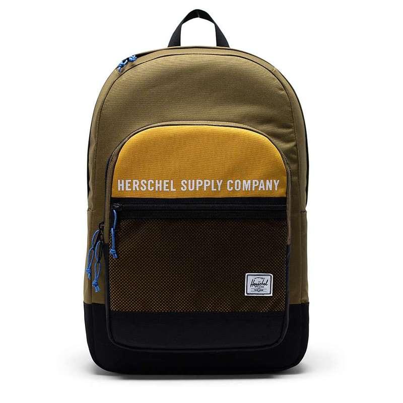 ハーシャル メンズ バックパック・リュックサック バッグ Herschel Supply Co Kaine Backpack Khaki Green / Arrowwood / Black