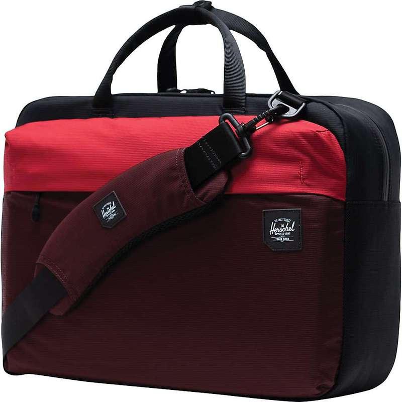 ハーシャル メンズ ショルダーバッグ バッグ Herschel Supply Co Britannia Messenger Plum / Red / Black