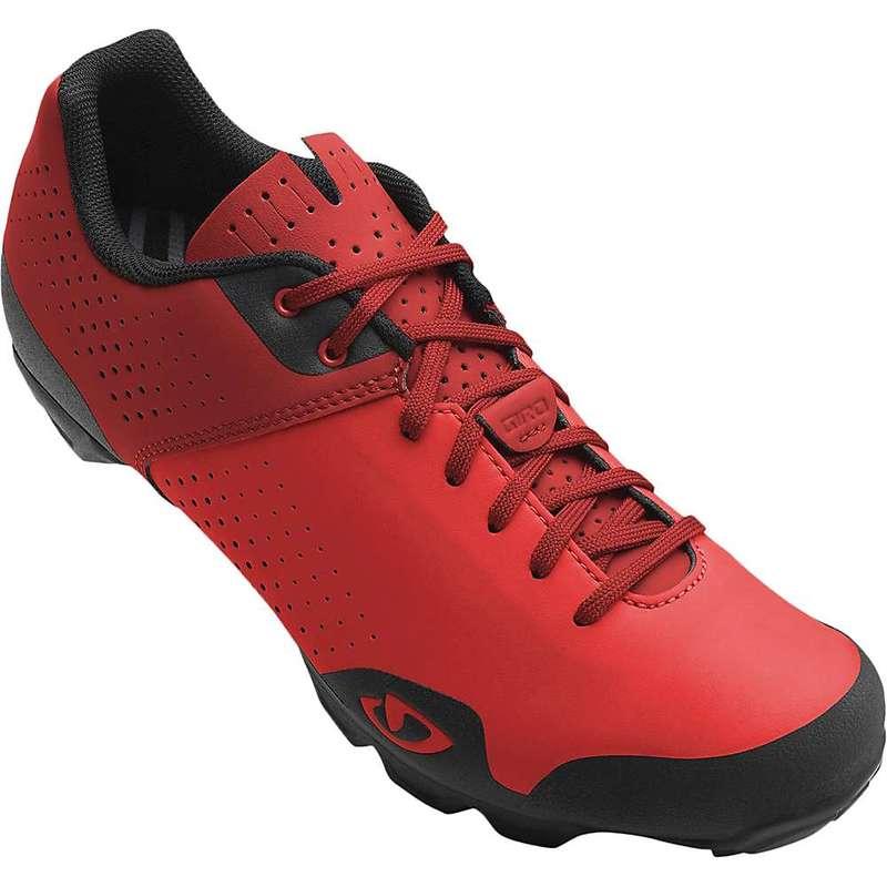 ジロ メンズ スニーカー シューズ Giro Men's Privateer Lace Cycling Shoe Bright Red/Dark Red