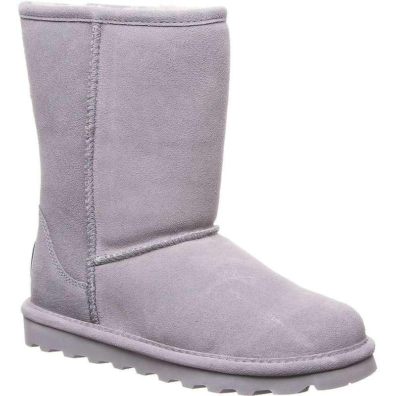 ベアパウ レディース ブーツ・レインブーツ シューズ Bearpaw Women's Elle Short Boot Grey Fog