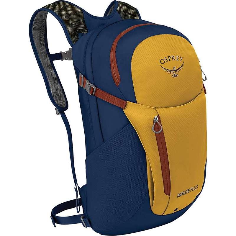 オスプレー メンズ バックパック・リュックサック バッグ Osprey Daylite Plus Pack Yellow / Deep Sea Blue