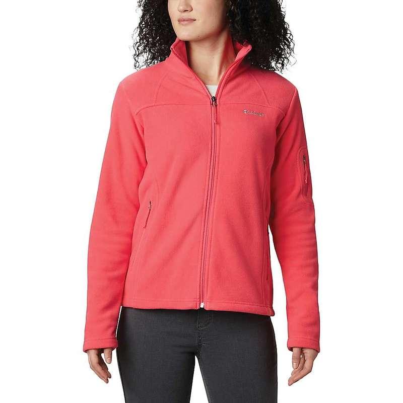 コロンビア レディース ジャケット・ブルゾン アウター Columbia Women's Fast Trek II Jacket Bright Geranium