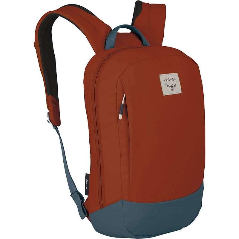 オスプレー メンズ バックパック・リュックサック バッグ Osprey Arcane Small Daypack Umber Orange / Stargazer Blue