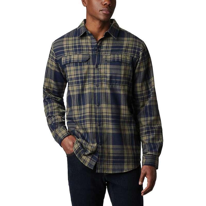 コロンビア メンズ シャツ トップス Columbia Men's Silver Ridge 2.0 Flannel Shirt Stone Green Flannel