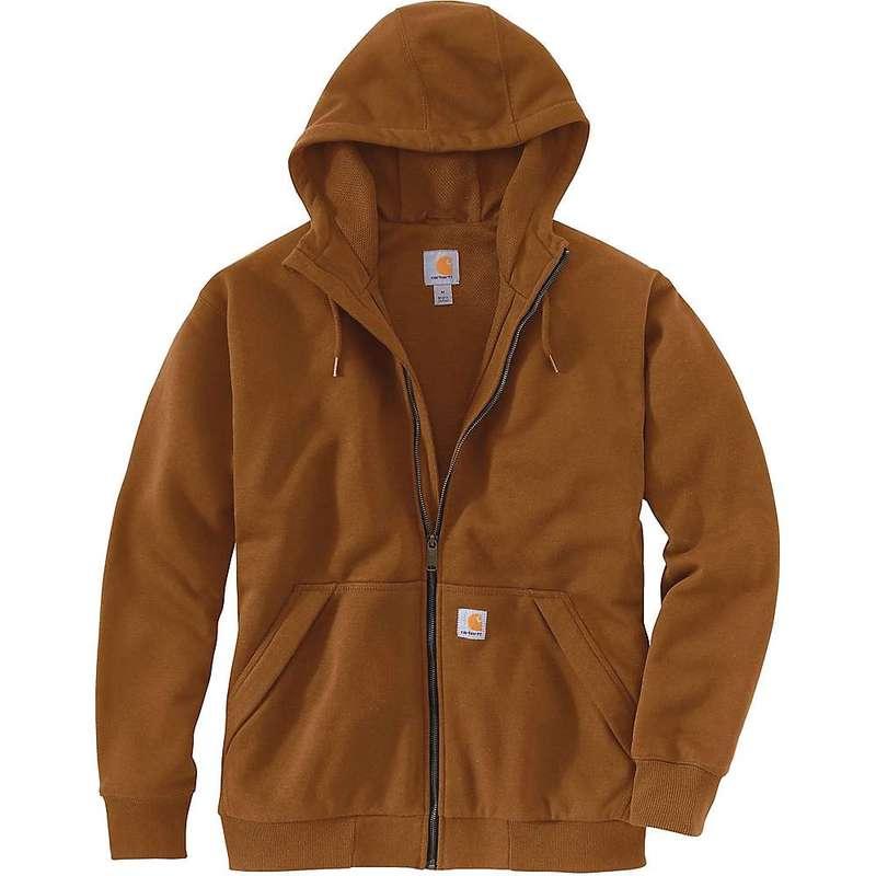 カーハート メンズ パーカー・スウェット アウター Carhartt Men's Rain Defender Original Fit Midweight Thermal Lined Full-Zip Hooded Sweatshirt Oiled Walnut Heather
