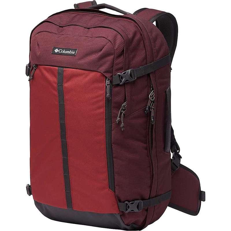 コロンビア メンズ バックパック・リュックサック バッグ Columbia Mazama 34L Travel Backpack Malbec/Marsala Red