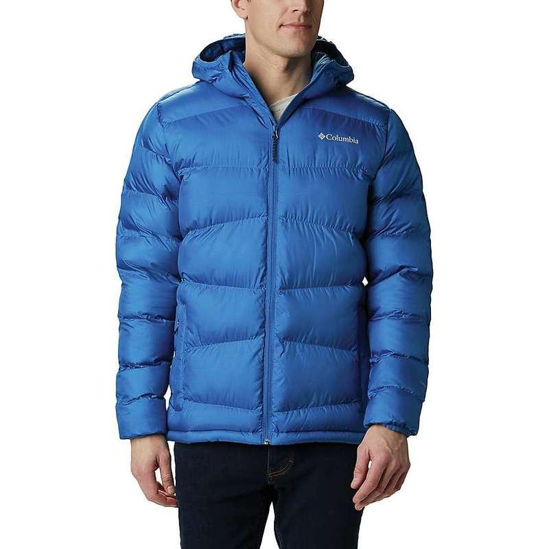 コロンビア メンズ ジャケット・ブルゾン アウター Columbia Men's Fivemile Butte Hooded Jacket Bright Indigo