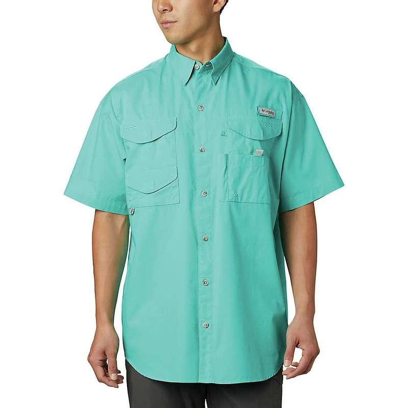 コロンビア メンズ シャツ トップス Columbia Men's Bonehead SS Shirt Bright Aqua