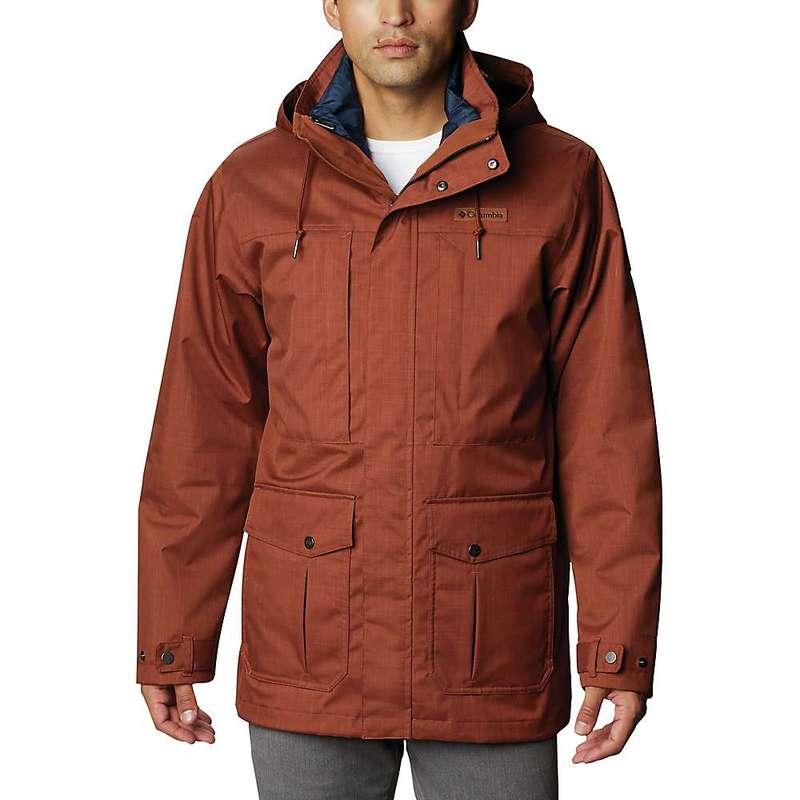 コロンビア メンズ ジャケット・ブルゾン アウター Columbia Men's Horizons Pine Interchange Jacket Dark Amber