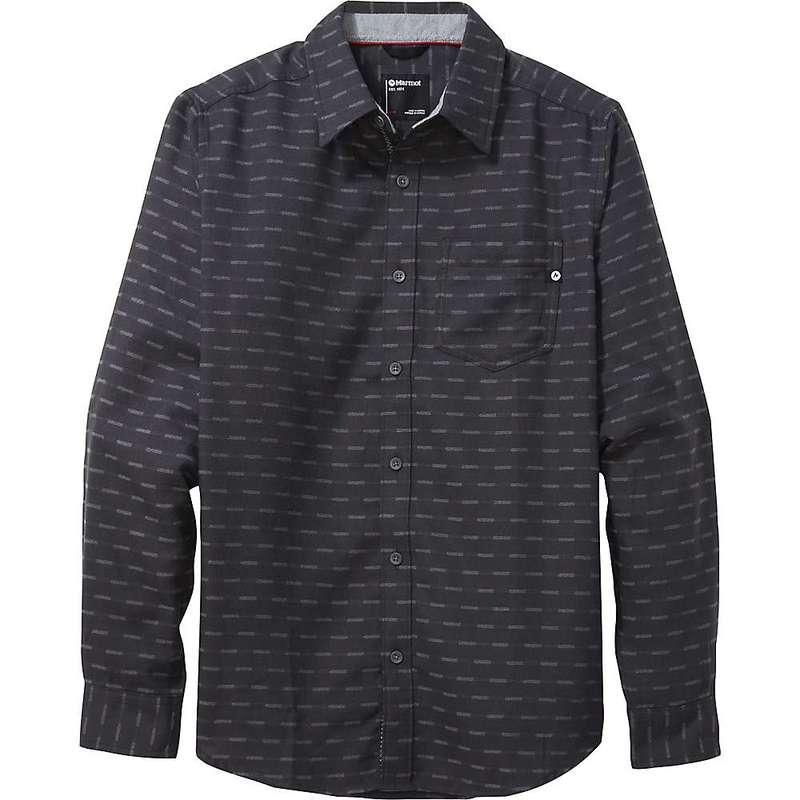 マーモット メンズ シャツ トップス Marmot Men's Fairfax Midweight Flannel LS Shirt Dark Charcoal