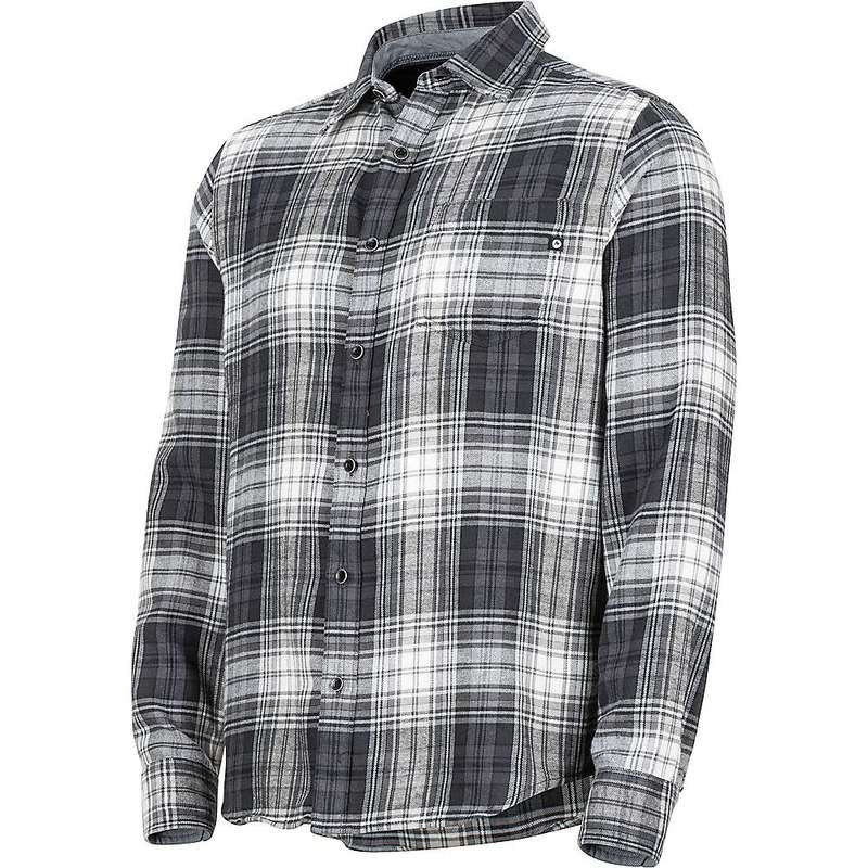 マーモット メンズ シャツ トップス Marmot Men's Fairfax Midweight Flannel LS Shirt Slate Grey