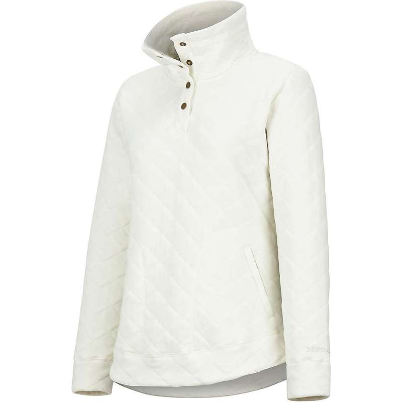 マーモット レディース シャツ トップス Marmot Women's Roice Pulllover LS Top Turtledove Heather