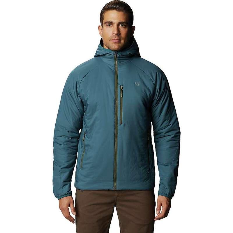 マウンテンハードウェア メンズ ジャケット・ブルゾン アウター Mountain Hardwear Men's Kor Strata Hooded Jacket Icelandic