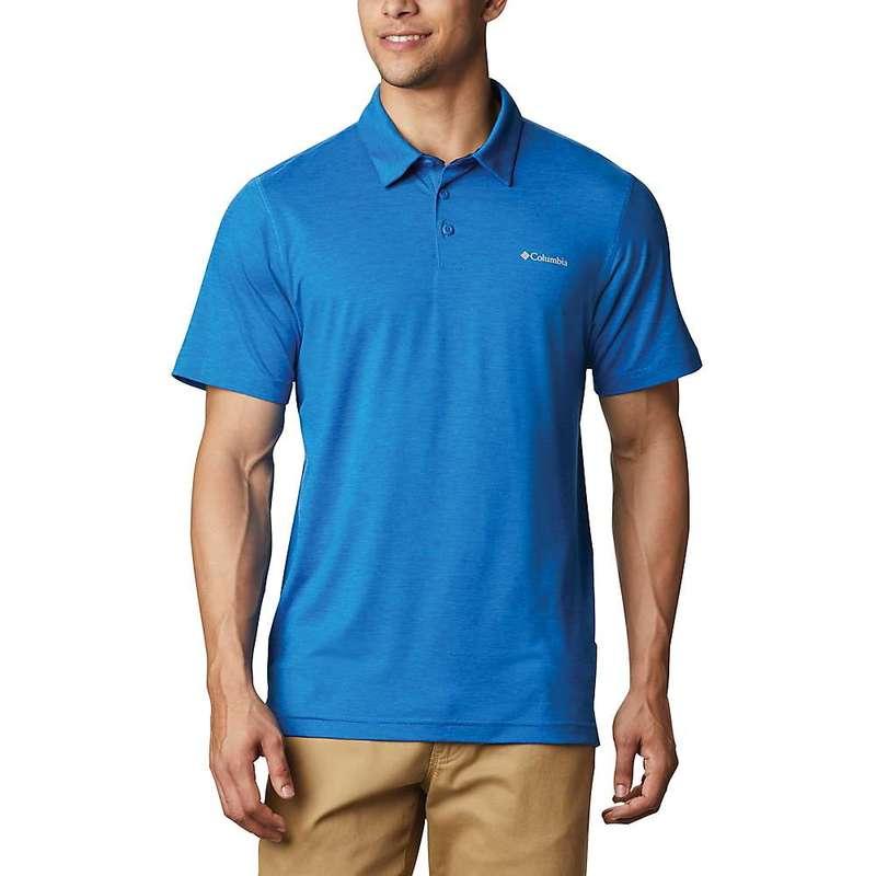 コロンビア メンズ シャツ トップス Columbia Men's Tech Trail Polo Shirt Bright Indigo