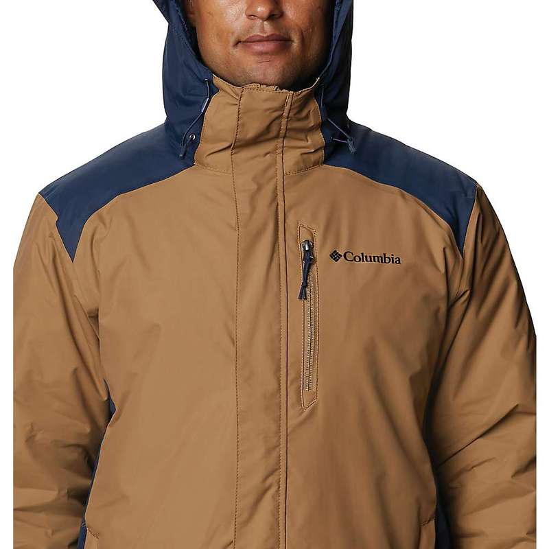 コロンビア メンズ ジャケット・ブルゾン アウター Columbia Men's Tipton Peak Insulated Jacket Delta / Collegiate Navy