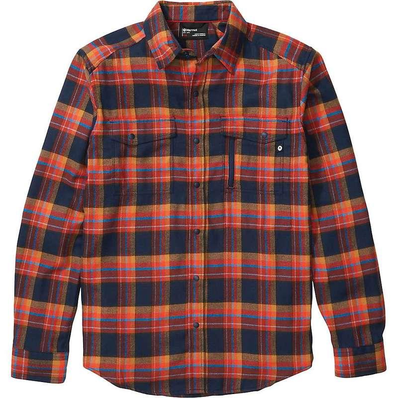 マーモット メンズ シャツ トップス Marmot Men's Tromso Midweight LS Flannel Shirt Dark Indigo