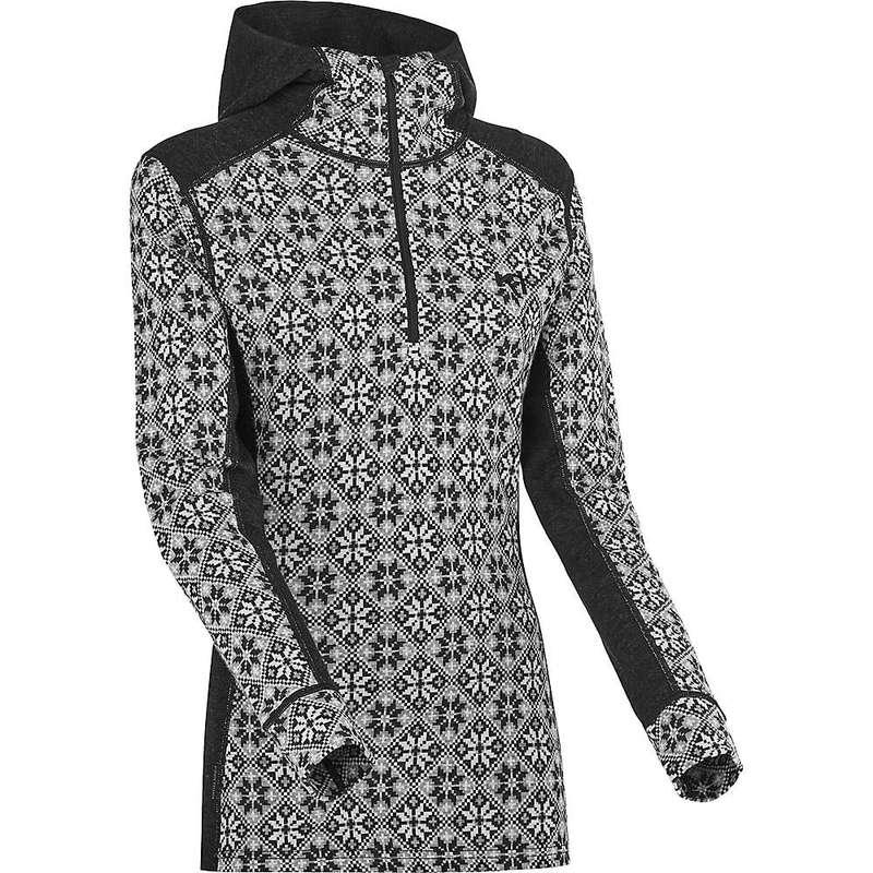 カリ ツラー レディース Tシャツ トップス Kari Traa Women's Rose Hood Black