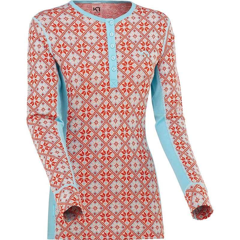カリ ツラー レディース Tシャツ トップス Kari Traa Women's Rose LS Apple