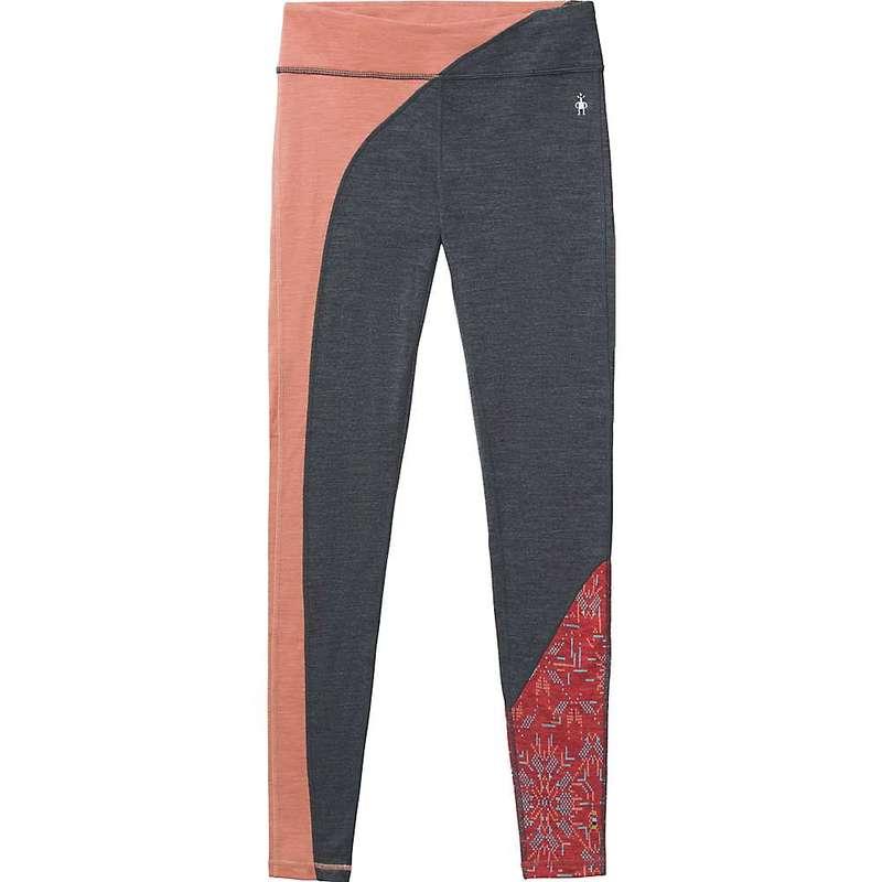 スマートウール レディース カジュアルパンツ ボトムス Smartwool Women's Merino 250 Baselayer Colorblock Bottom Canyon Rose Heather