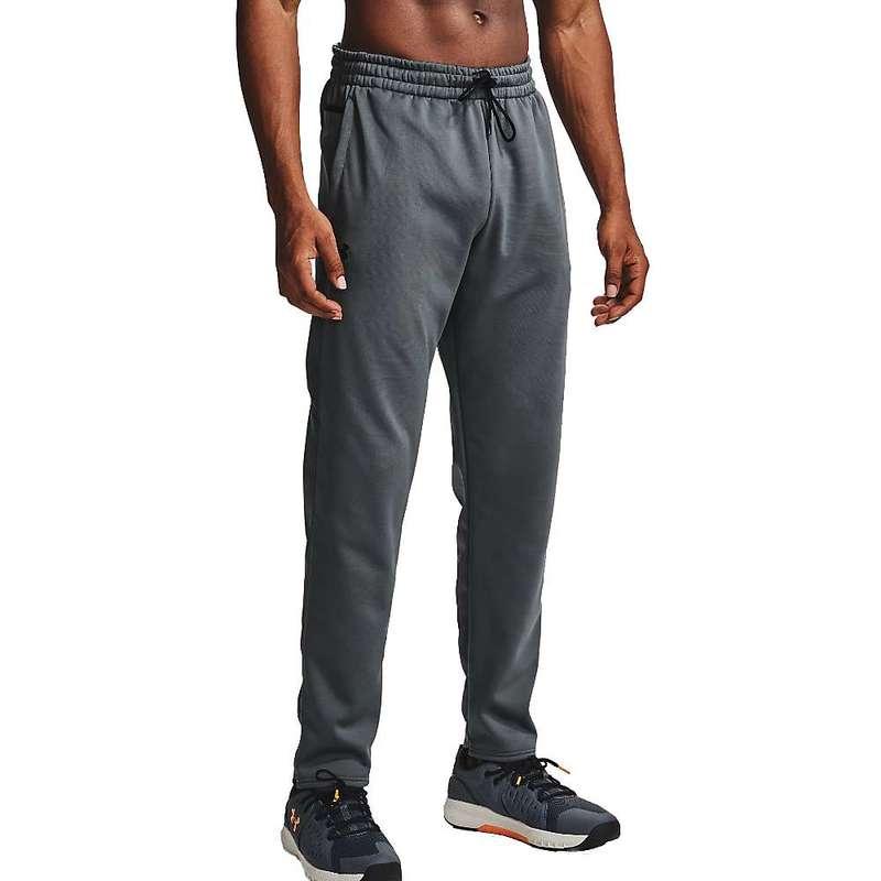 アンダーアーマー メンズ カジュアルパンツ ボトムス Under Armour Men's Armour Fleece Pant Pitch Grey / Black