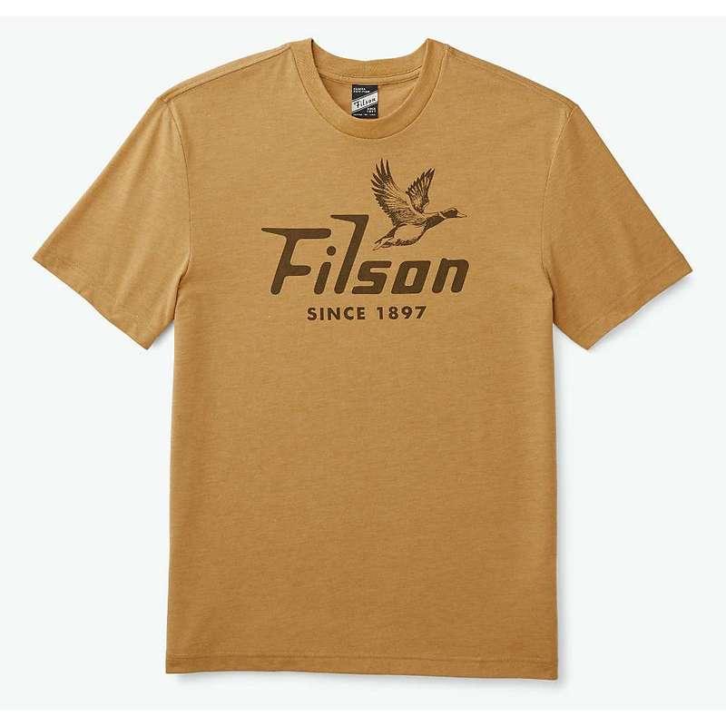 フィルソン メンズ シャツ トップス Filson Men's Buckshot T-Shirt Gold Heather