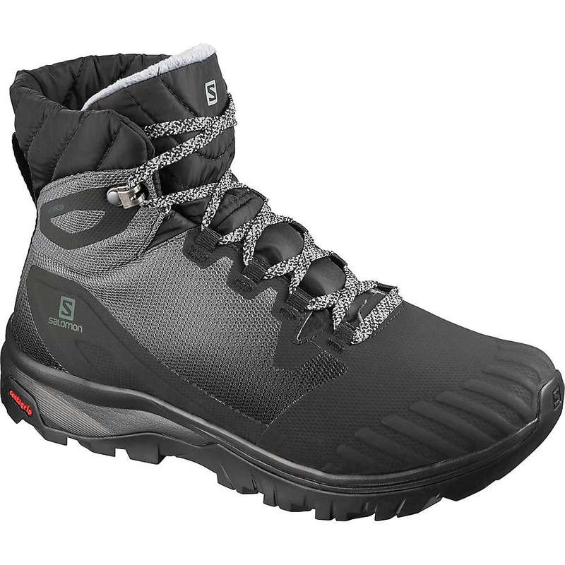 サロモン レディース ブーツ・レインブーツ シューズ Salomon Women's Vaya Blaze TS CS Waterproof Boot Black / Black / Quiet Shade