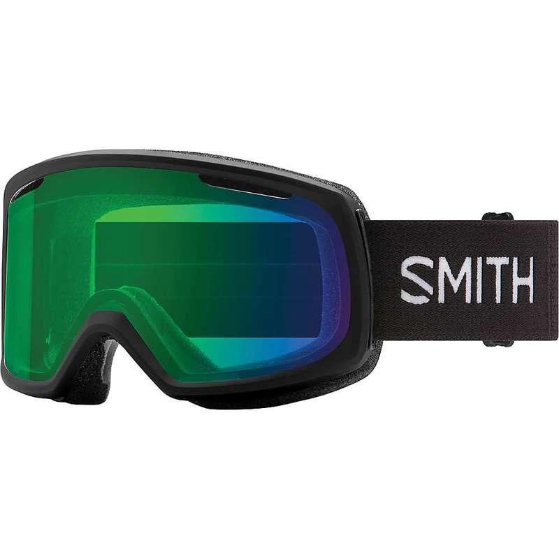 一流の品質 スミス レディース サングラス・アイウェア アクセサリー Smith Women's Riot Snow Goggle Black / Everyday Green Mirror, LOWTEX PLUS 879d2372