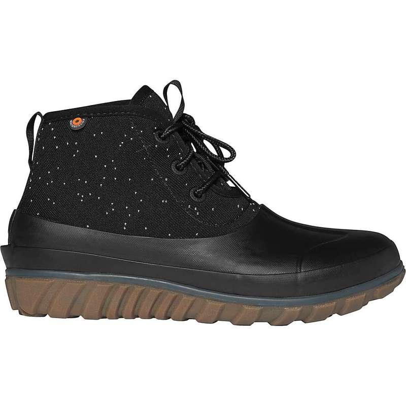 ボグス レディース ブーツ・レインブーツ シューズ Bogs Women's Classic Casual Lace Speckle Boot Black