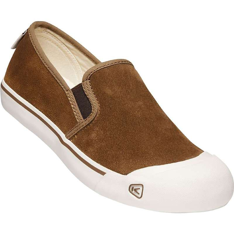 キーン メンズ スニーカー シューズ KEEN Men's Coronado III Slip-On Suede Shoe Breen