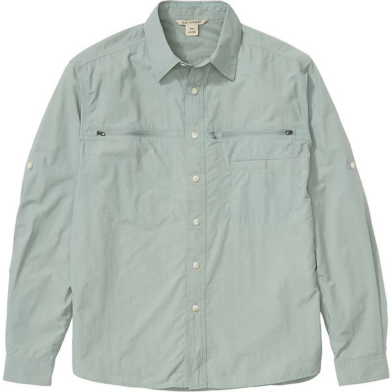 エクスオフィシオ メンズ シャツ トップス ExOfficio Men's Reef Runner LS Shirt Bonsai