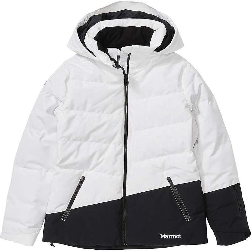 マーモット レディース ジャケット・ブルゾン アウター Marmot Women's Slingshot Jacket White / Black