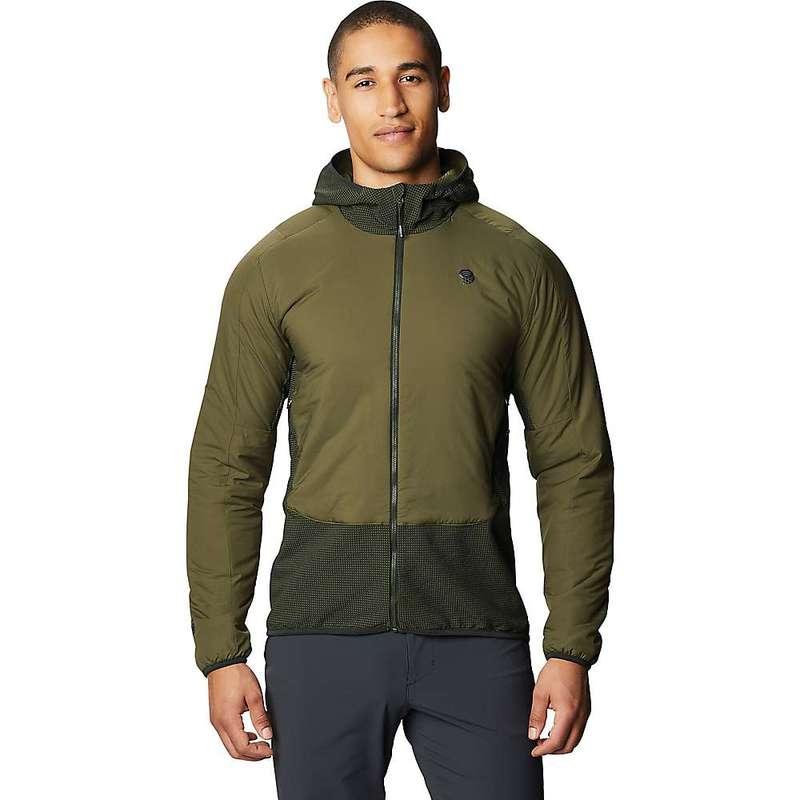 マウンテンハードウェア メンズ ジャケット・ブルゾン アウター Mountain Hardwear Men's Kor Strata Climb Jacket Dark Army