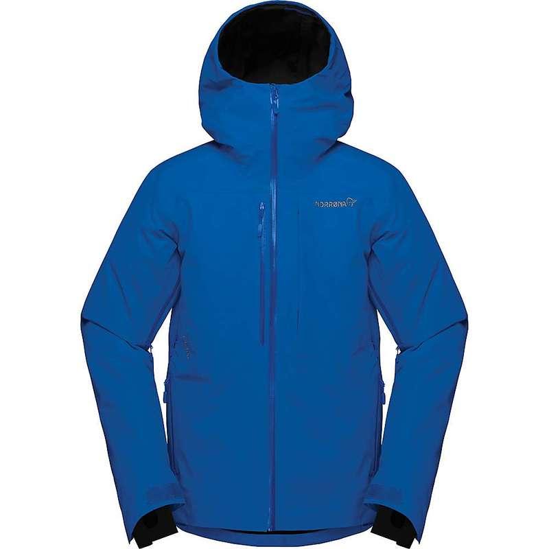 ノローナ メンズ ジャケット・ブルゾン アウター Norrona Men's Lofoten Gore-Tex Insulated Jacket Olympian Blue
