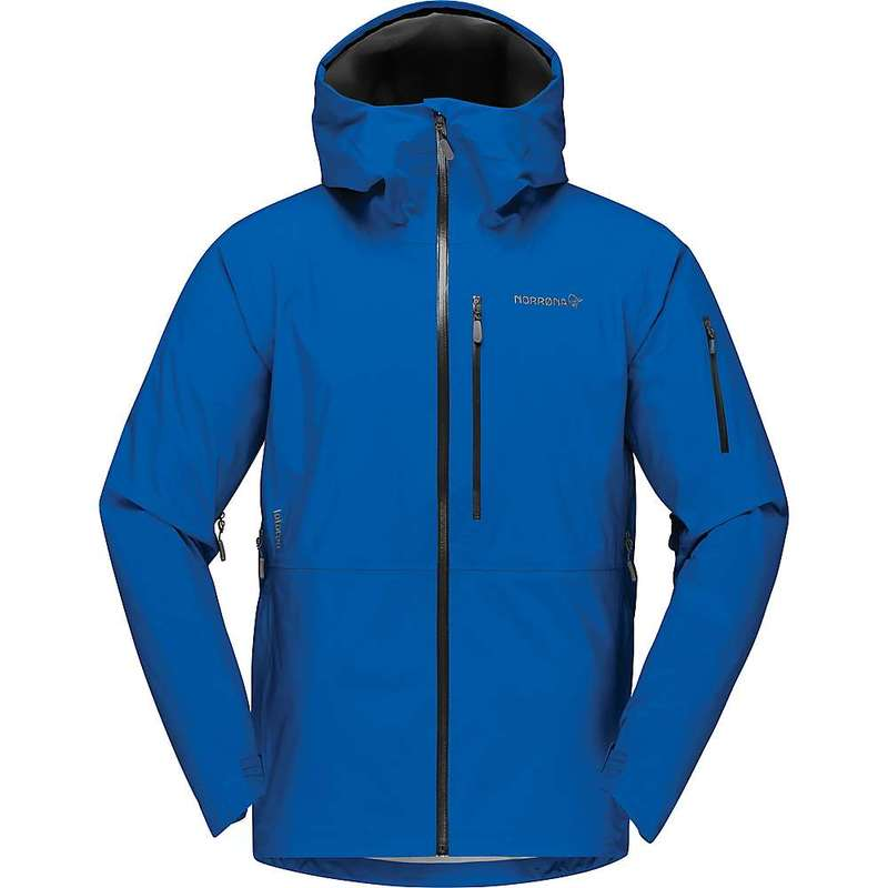 ノローナ メンズ ジャケット・ブルゾン アウター Norrona Men's Lofoten GTX Jacket Olympian Blue