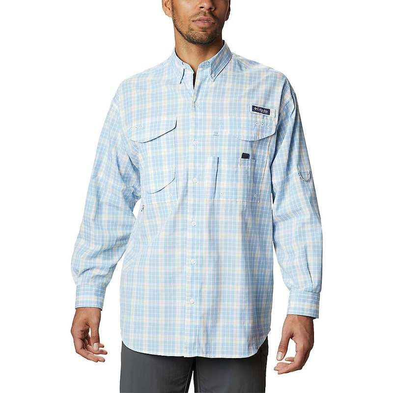 コロンビア メンズ シャツ トップス Columbia Men's Super Bonehead Classic LS Shirt Sunlit Plaid