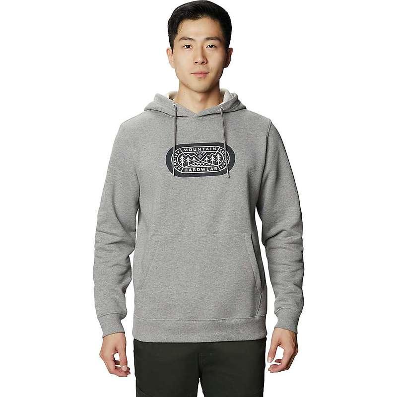 送料無料 サイズ交換無料 マウンテンハードウェア メンズ アウター パーカー スウェット Heather セール特別価格 Manta Hardwear Grey 新作アイテム毎日更新 Mountain Pullover MHW Out Hoody Men's Yonder