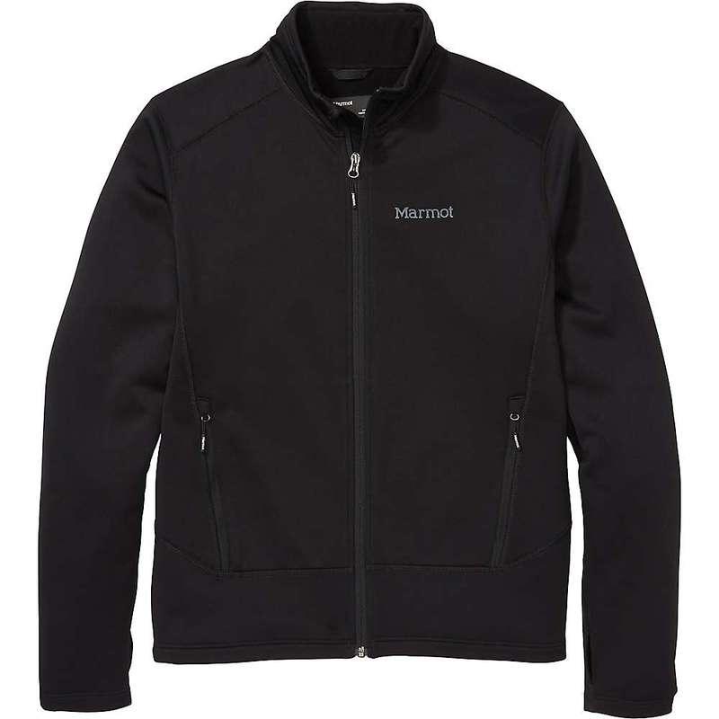 Black Polartec ジャケット・ブルゾン Olden Marmot マーモット アウター Men's メンズ Jacket