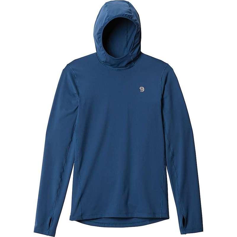 マウンテンハードウェア メンズ パーカー・スウェット アウター Mountain Hardwear Men's Ghee Hoody Blue Horizon