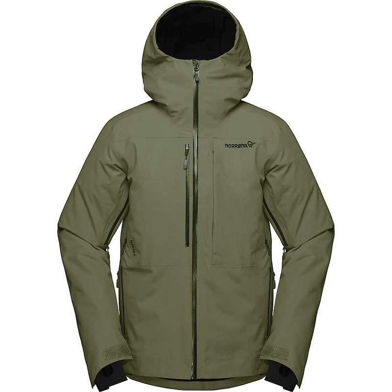 ノローナ メンズ ジャケット・ブルゾン アウター Norrona Men's Lofoten Gore-Tex Insulated Jacket Olive Night