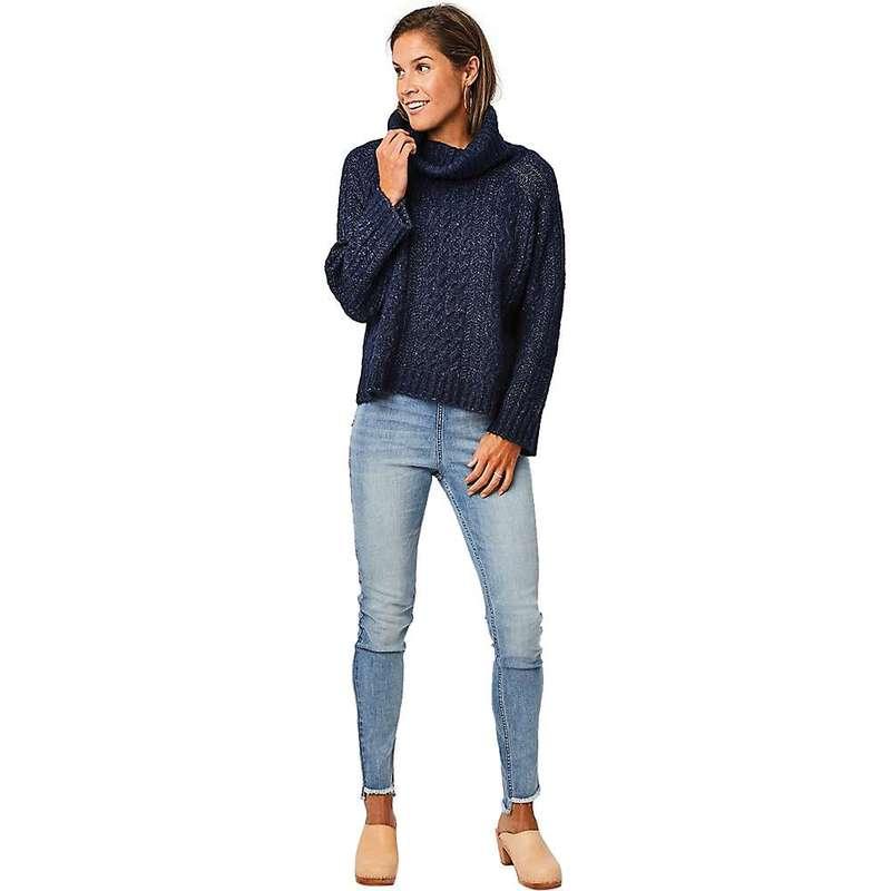 送料無料 サイズ交換無料 カーブデザイン レディース 直送商品 アウター ニット セーター Sweater Women's Navy Wyatt Carve Designs 信憑