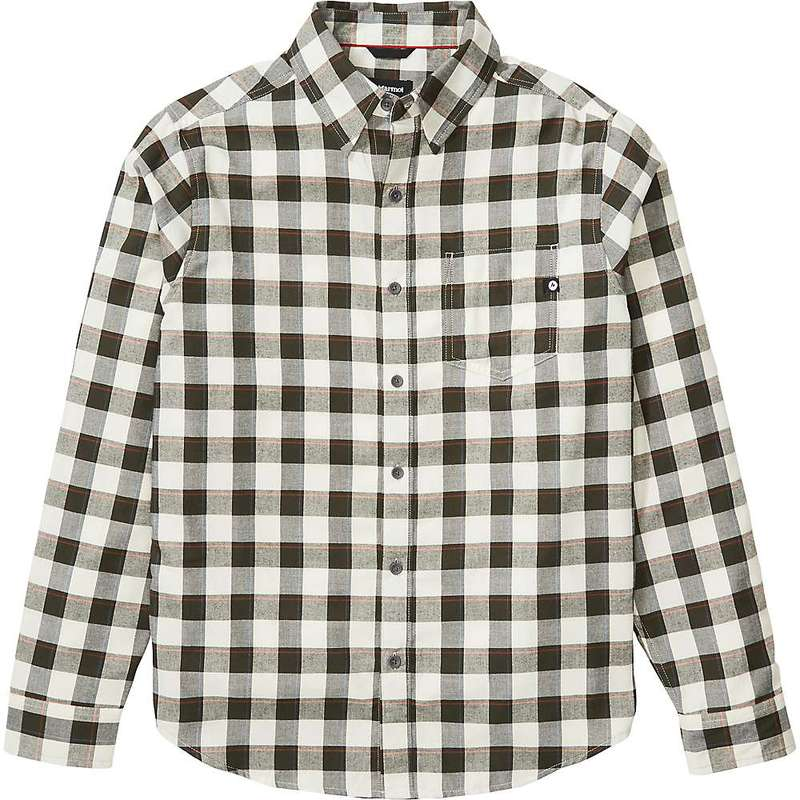 マーモット メンズ シャツ トップス Marmot Men's Bodega Lightweight LS Flannel Shirt Papyrus