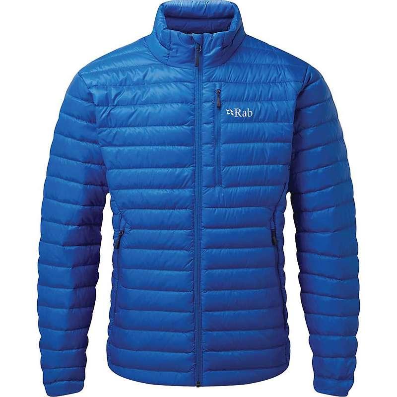 ラブ メンズ ジャケット・ブルゾン アウター Rab Men's Microlight Jacket Polar Blue