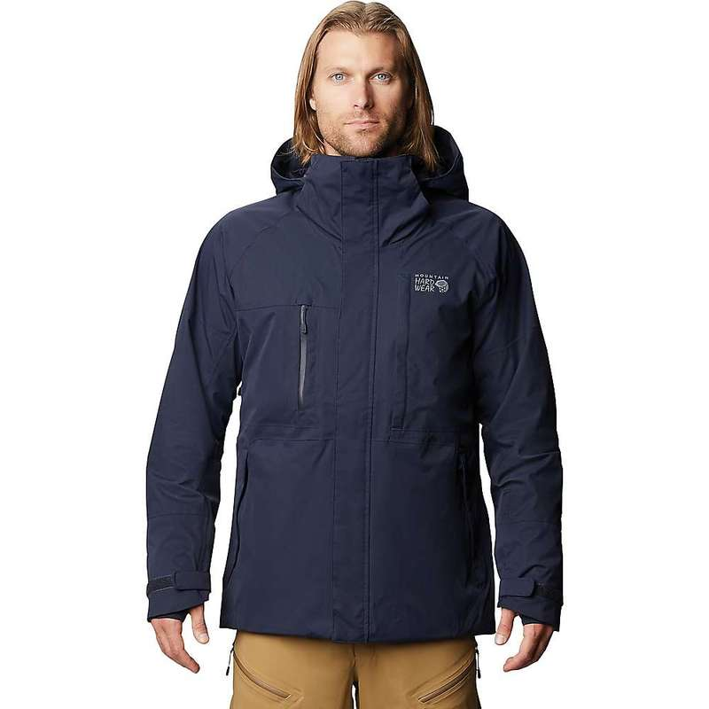 マウンテンハードウェア メンズ ジャケット・ブルゾン アウター Mountain Hardwear Men's Firefall/2 Jacket Dark Zinc