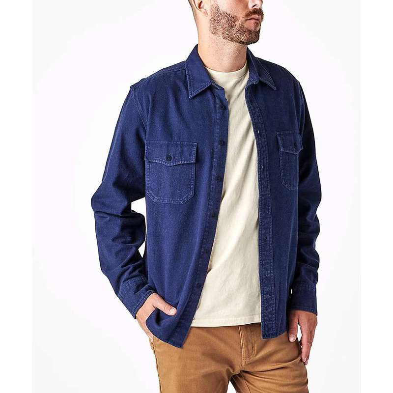 アーボー メンズ シャツ トップス Arbor Men's Foundation 2.0 Chamois Shirt Indigo