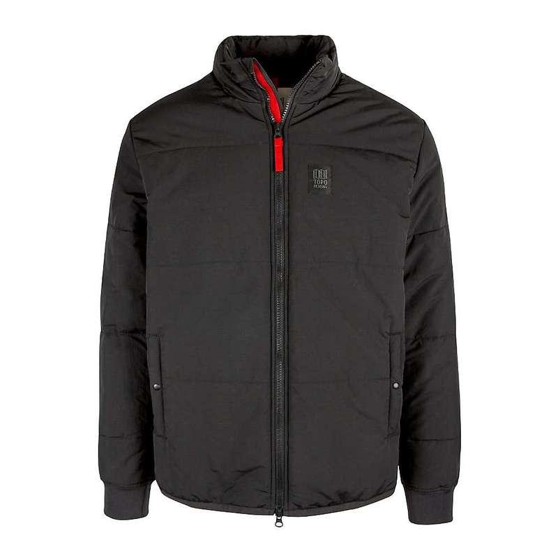 トポ・デザイン メンズ ジャケット・ブルゾン アウター Topo Designs Men's Mid Puffer Jacket Black