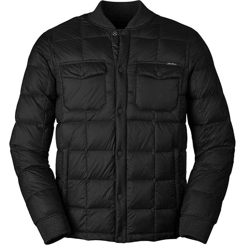 エディー バウアー メンズ ジャケット・ブルゾン アウター Eddie Bauer Men's Cirruslite Snap Jacket Black