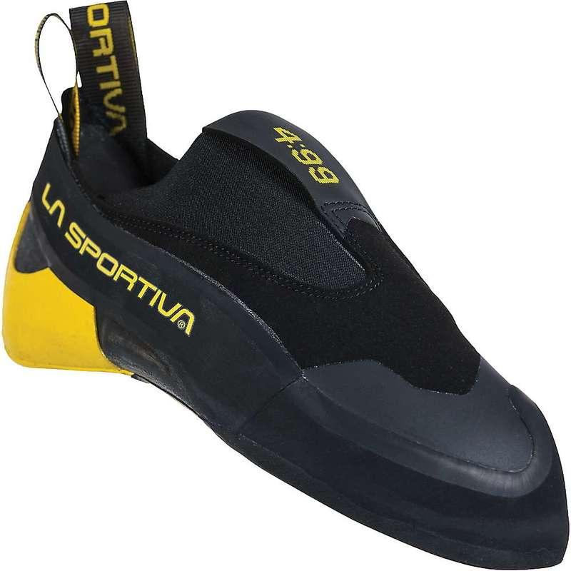 送料無料 サイズ交換無料 新発売 ラスポルティバ メンズ シューズ お買い得 スニーカー Black Sportiva Climbing La Shoe 4:99 Yellow Cobra